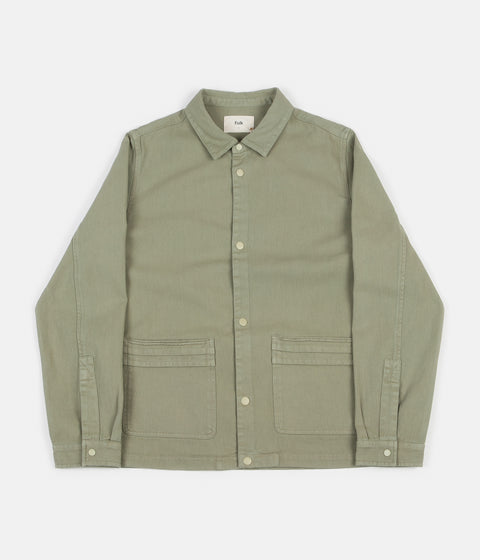Folk Horizon Jacket - Pale Olive