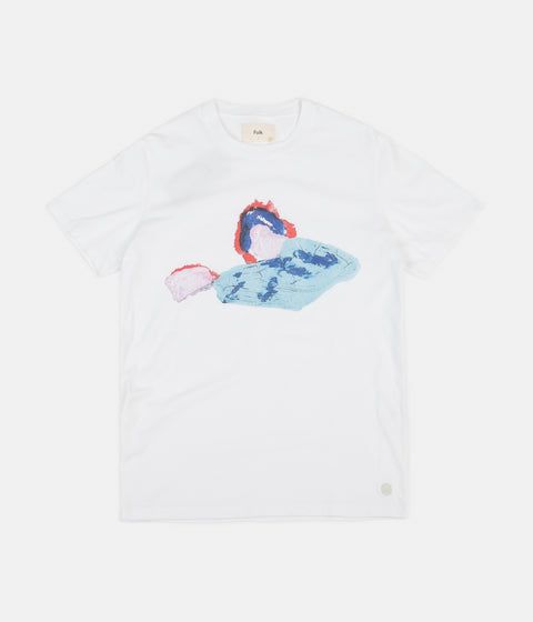 Folk Roller T-Shirt - White