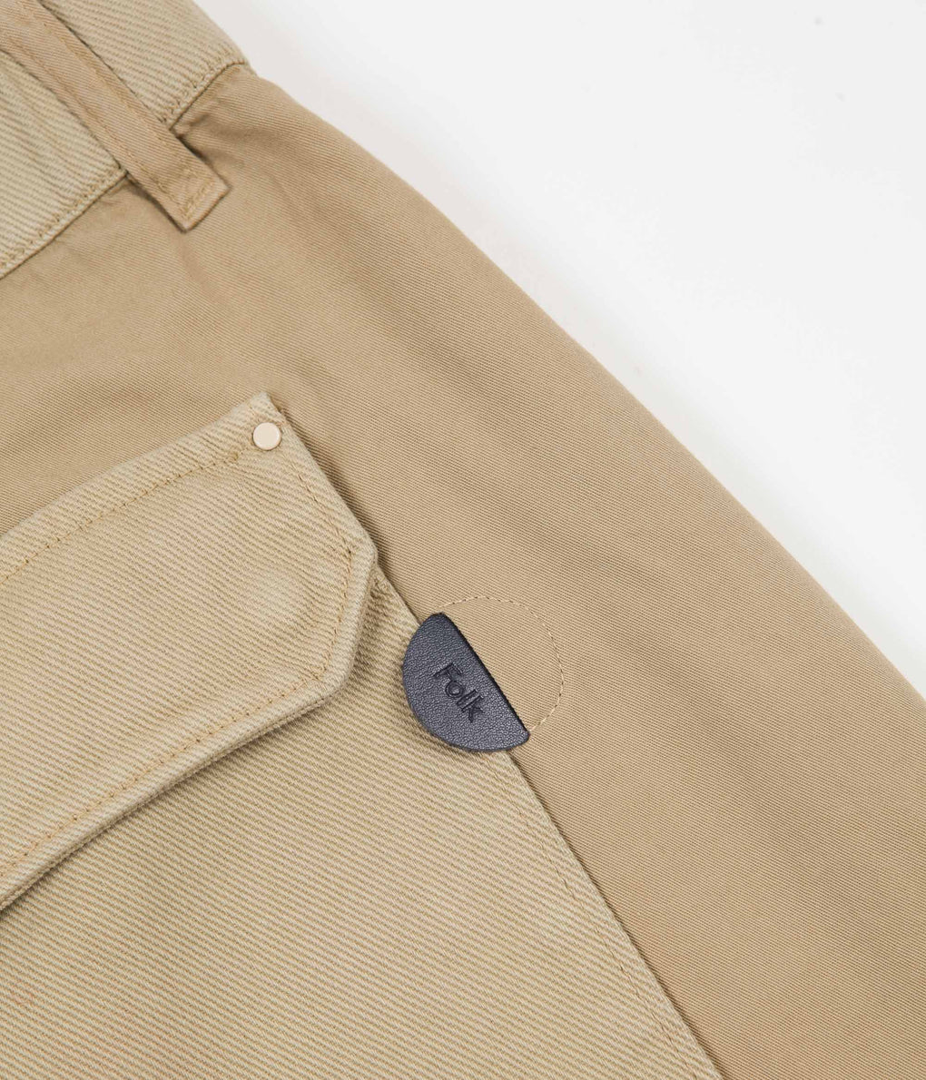 Folk Utility Trousers - Sand