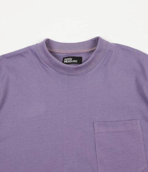 Good Measure M-4 'Lonely Hearts' Ringo Pocket T-Shirt - Lilac