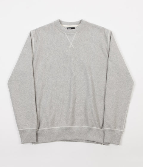 Good Measure M-21 Shirley Crabtree Crewneck Sweatshirt - Marl Grey