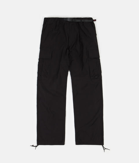 Gramicci Back Satin Cargo Pants - Black