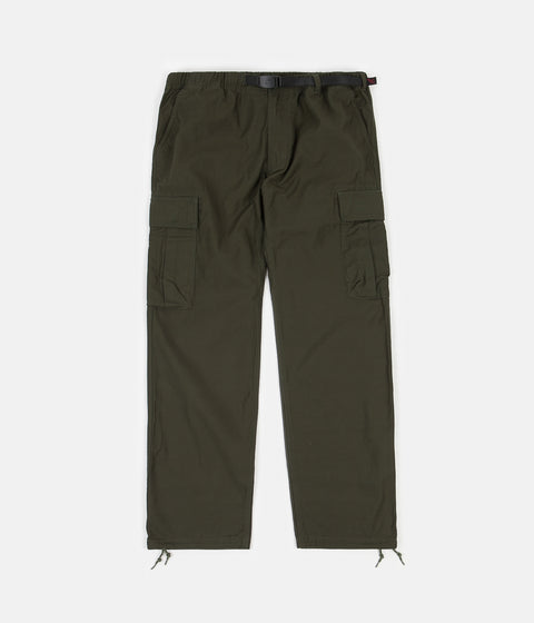 Gramicci Back Satin Cargo Pants - Deep Olive