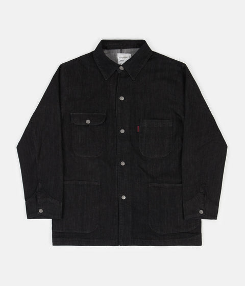 Gramicci Denim Cover All Jacket - Black One Wash