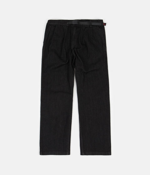 Gramicci Denim Gurkha Pants - Black One Wash