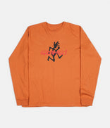 Image for Gramicci Japan Logo Long Sleeve T-Shirt - Maple