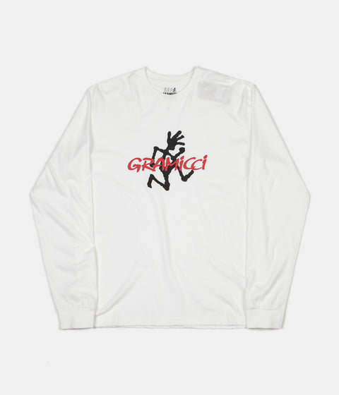 Gramicci Japan Logo Long Sleeve T-Shirt - White