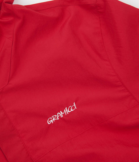 Gramicci Japan Shell Guide Parka Jacket - Fire Red
