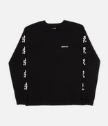 Image for Gramicci Japan Sleeve Print Long Sleeve T-Shirt - Black