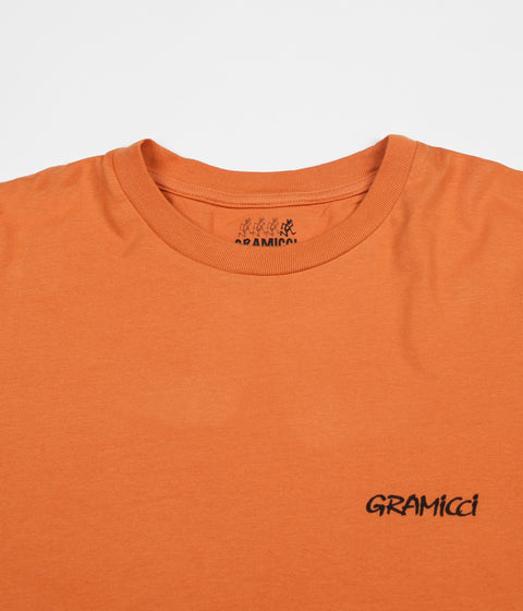 Gramicci Japan Sleeve Print Long Sleeve T-Shirt - Maple