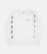 Image for Gramicci Japan Sleeve Print Long Sleeve T-Shirt - White