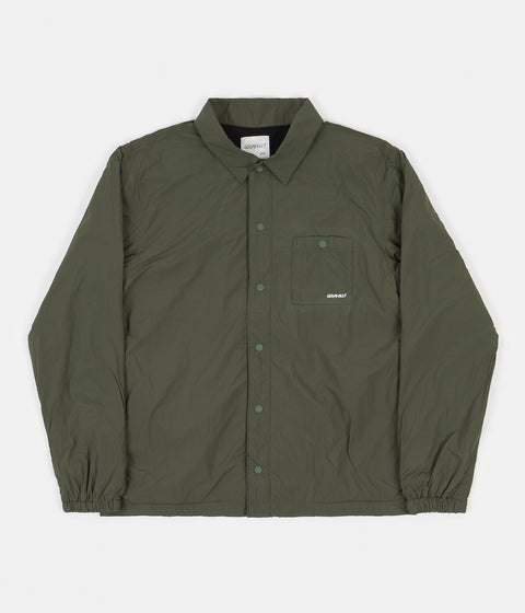 Gramicci Nylon-Fleece Coach Jacket - Olive