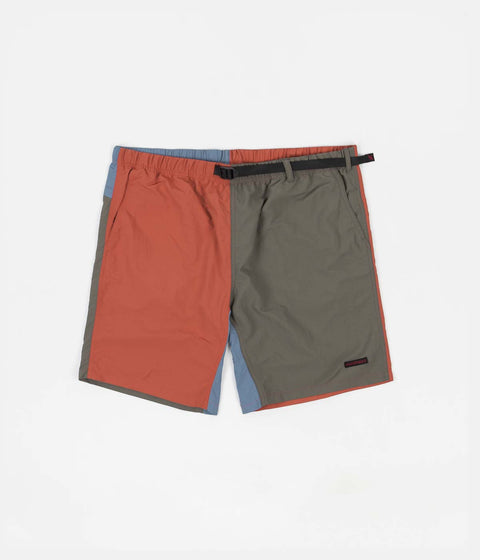Gramicci Shell Packable Shorts - Terra Cotta / Ash Olive