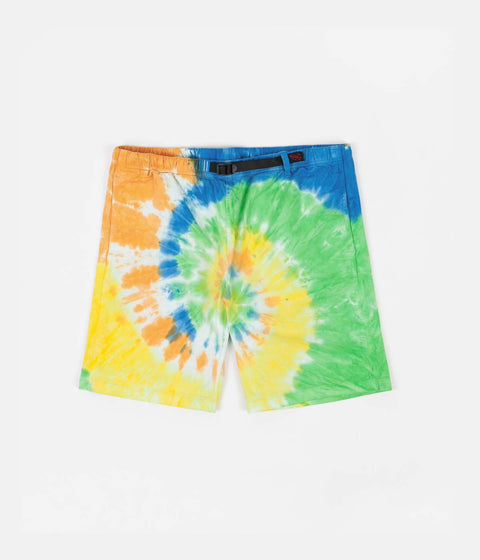 Gramicci Tie Dye G-Shorts - Orange Spiral