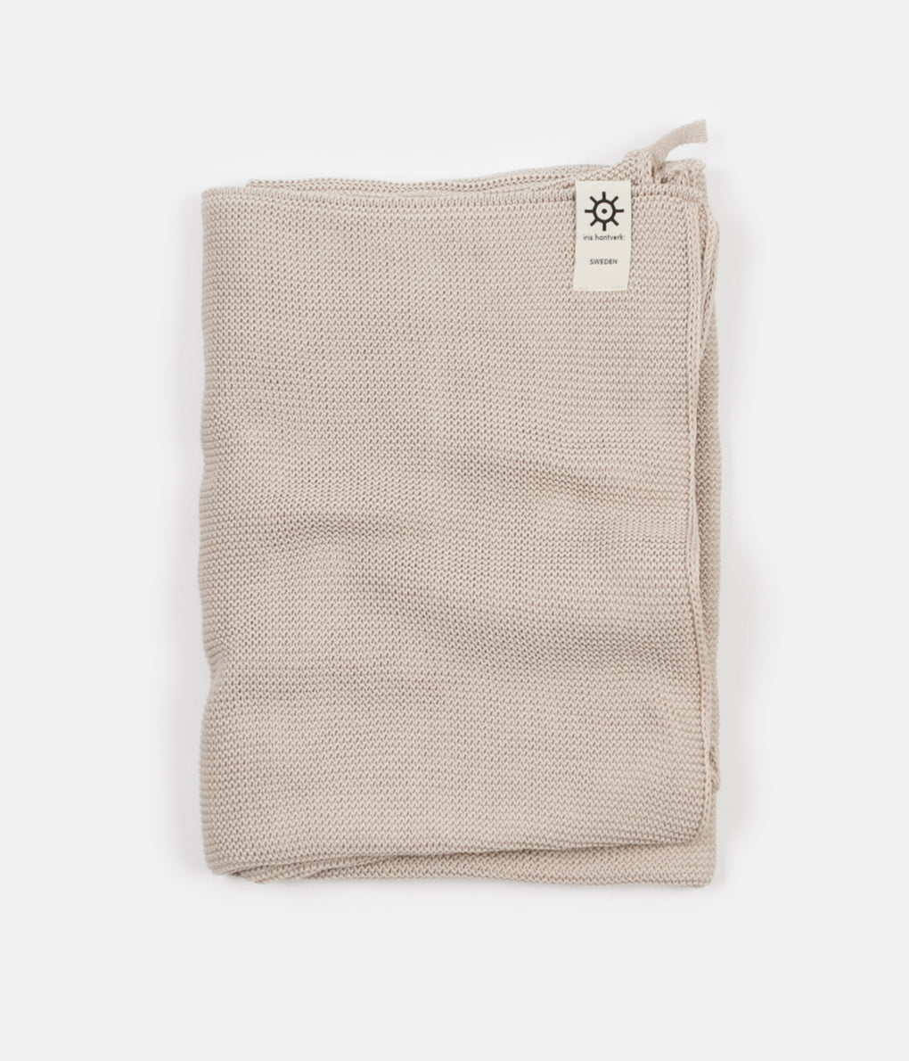 Iris Hantverk Bath Towel - Natural