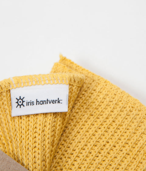 Iris Hantverk Household Cloth - Misted Yellow