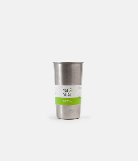 Klean Kanteen 592ml Single Wall Pint Tumbler - Brushed Stainless
