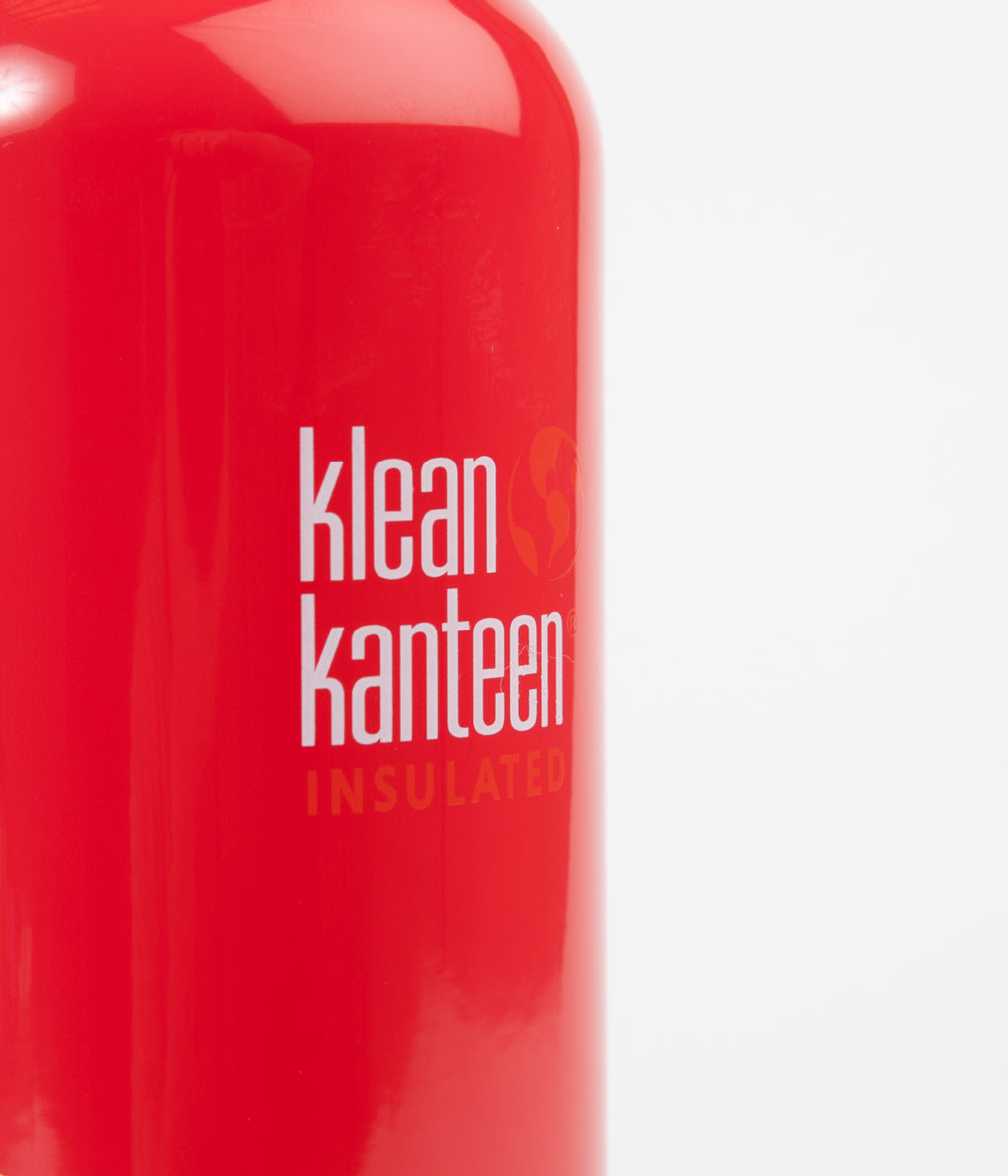 Klean Kanteen Classic 592ml Vacuum Insulated Flask - Mineral Red