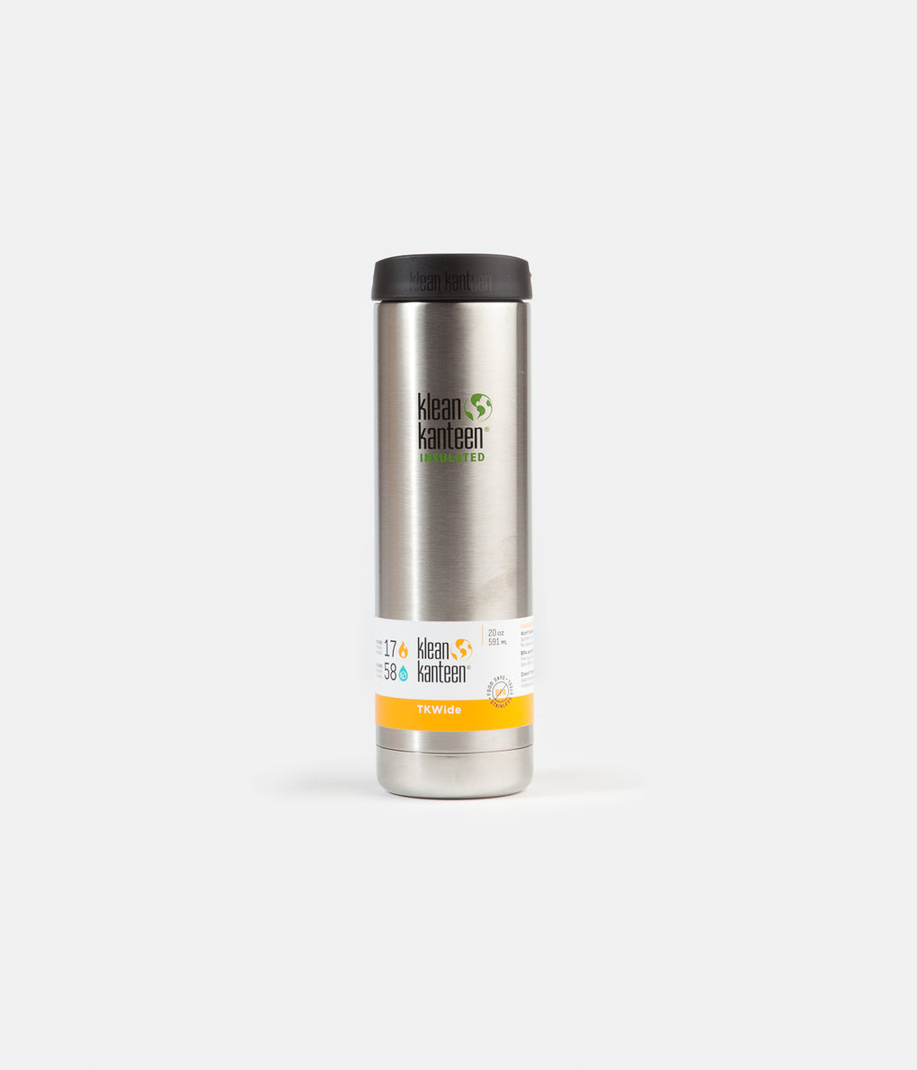 Klean Kanteen Insulated TKWide 591ml Flask - Brushed Stainless