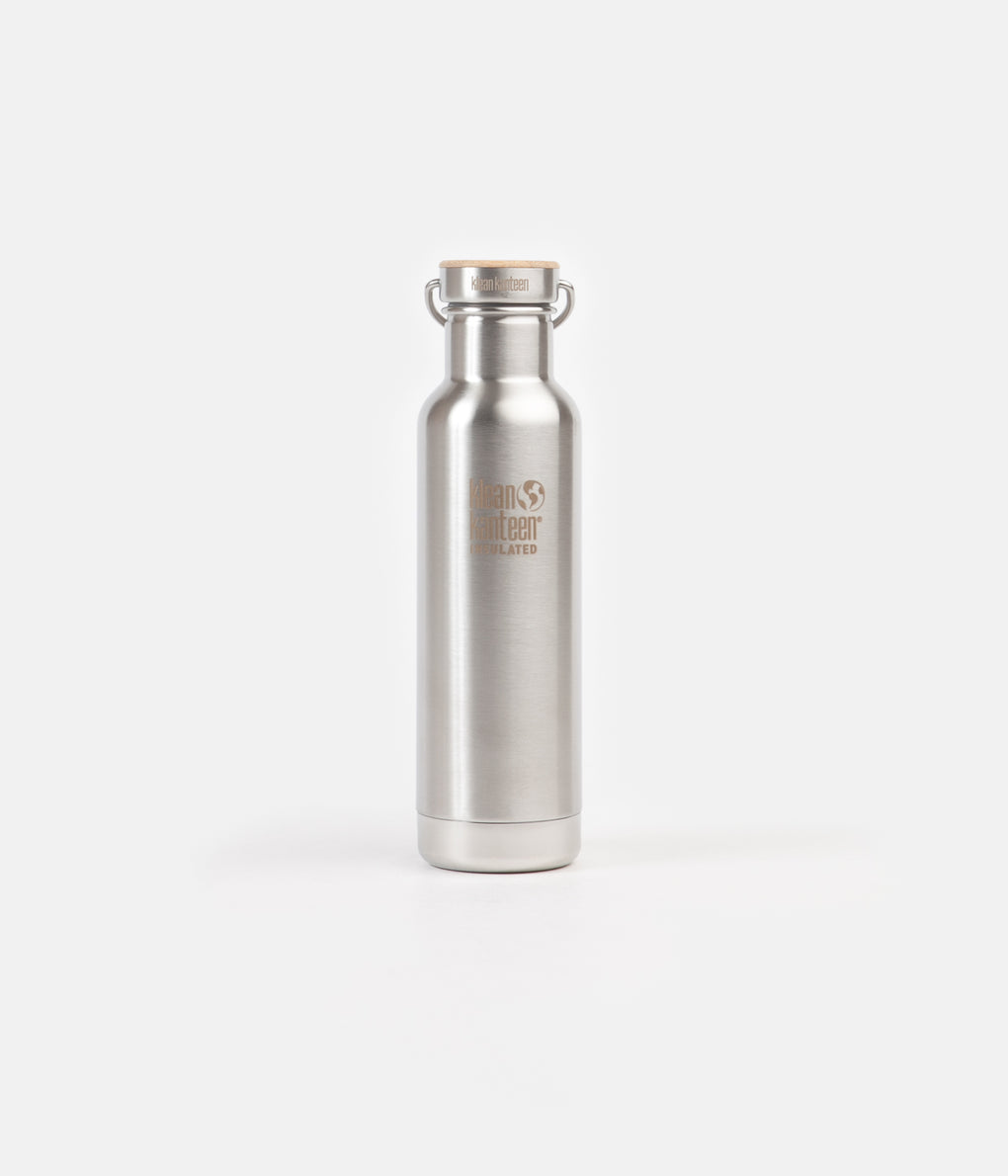 Klean Kanteen Reflect 592ml Vacuum Insulated Flask - Brushed Stainless