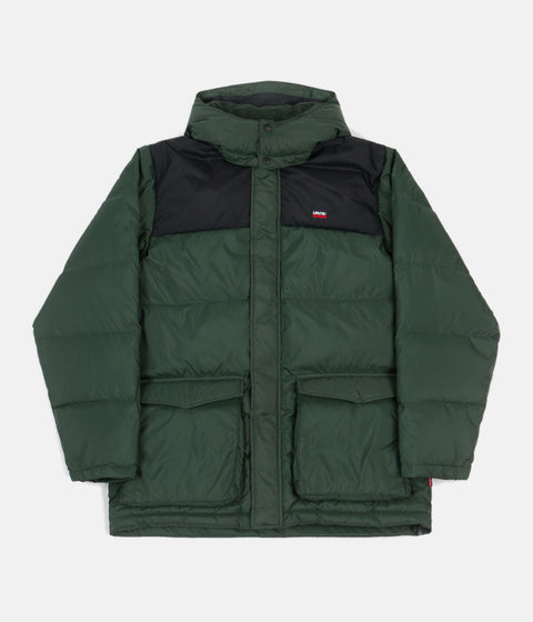 Levi's® Red Tab™ Fillmore Mid Parka Jacket - Python Green