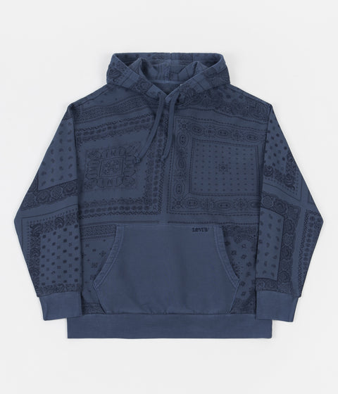 Levi's® Red Tab™ Bandana Pop Over Hoodie - Estate Blue