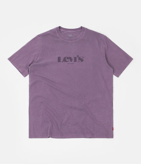 Levi's® Red Tab™ Relaxed Fit T-Shirt - Loganberry