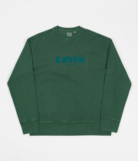 Levi's® Red Tab™ Relaxed T2 Crewneck Sweatshirt - Forest Biome