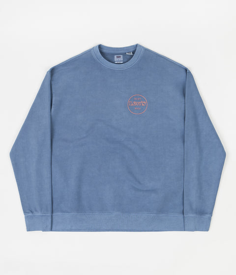 Levi's® Red Tab™ Relaxed T2 Crewneck Sweatshirt - Sapphire