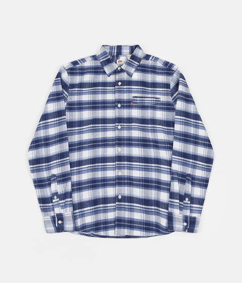 Levi's® Red Tab™ Sunset 1 Pocket Shirt - Navy / Peony