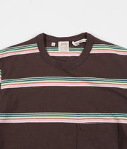 Levi's® Vintage Clothing 1960's Casuals Stripe T-Shirt - Brown