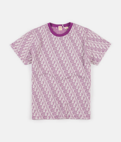 Levi's® Vintage Clothing Earth Graphic T-Shirt - Purple