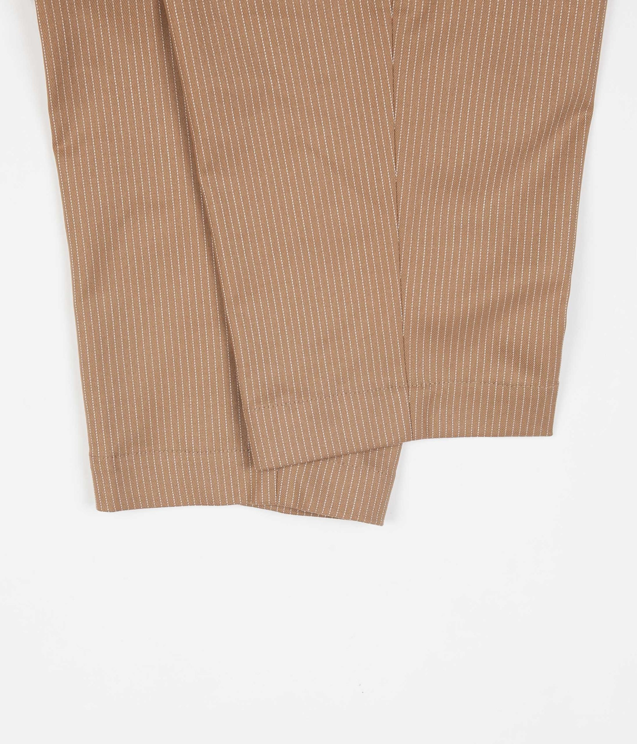 Libertine-Libertine Helterskelter Trousers - Camel / White