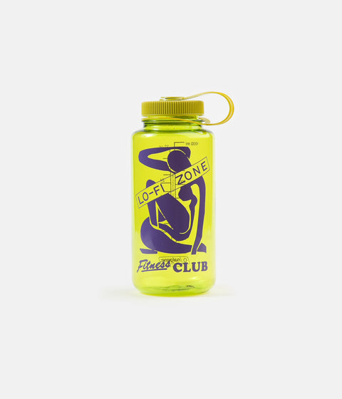 Lo-Fi Fitness Club Water Bottle - Spring Green