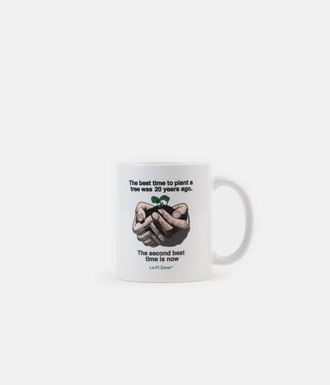 Lo-Fi Plants Coffee Mug - White