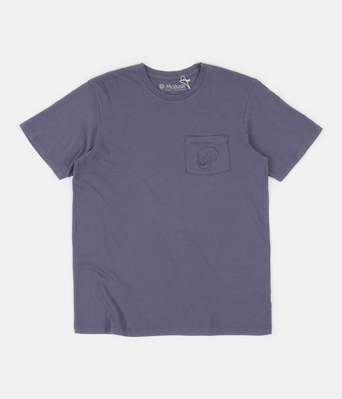 Mollusk After Life T-Shirt - Blue Lavender