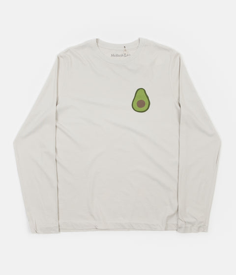 Mollusk Avocado Long Sleeve T-Shirt - Fog