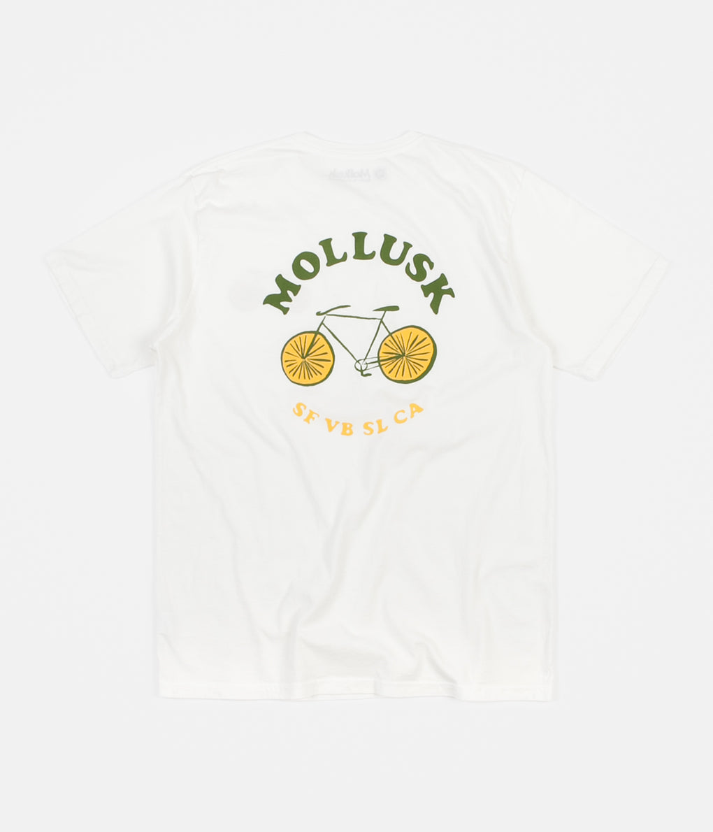 Mollusk Bicycle T-Shirt - White