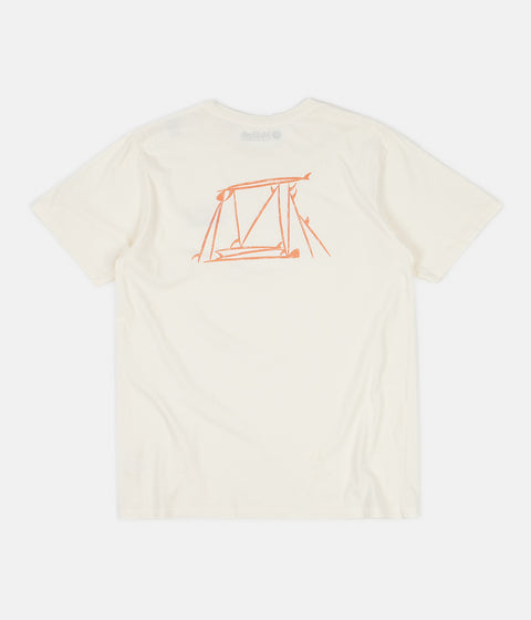 Mollusk Board Stack T-Shirt - Antique White