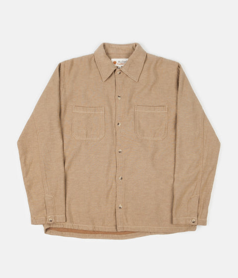 Mollusk Builder Shirt - Tan Earth
