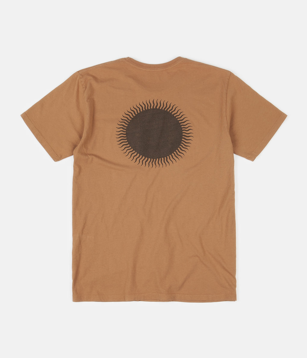 Mollusk Country Sun T-Shirt - Orange Earth