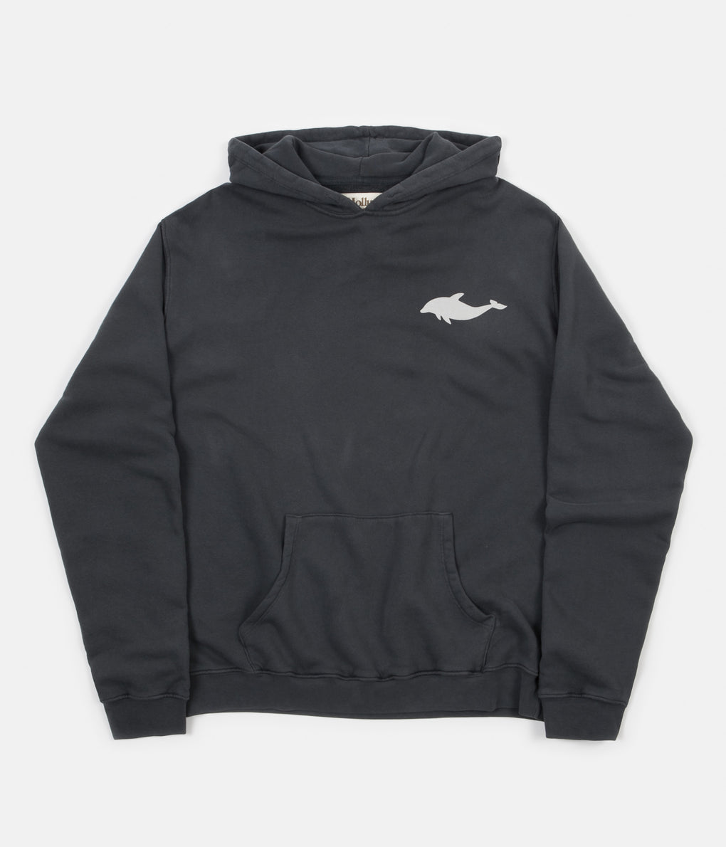 Mollusk Dolphin Hoodie - Faded Navy