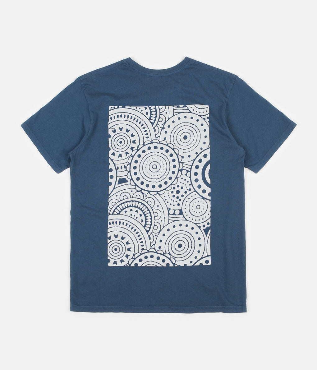 Mollusk Group T-Shirt - Navy Indigo