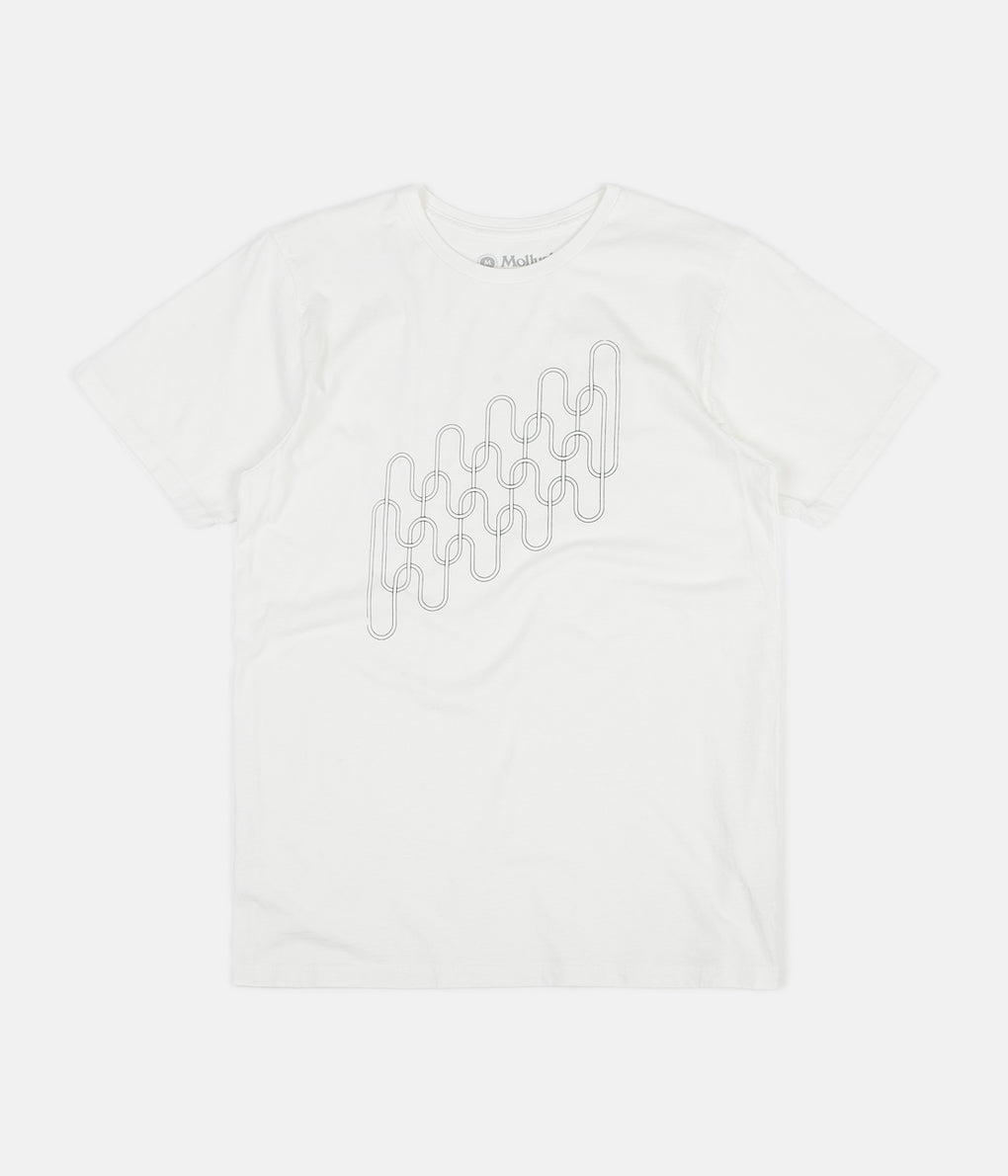 Mollusk Interwoven T-Shirt - White