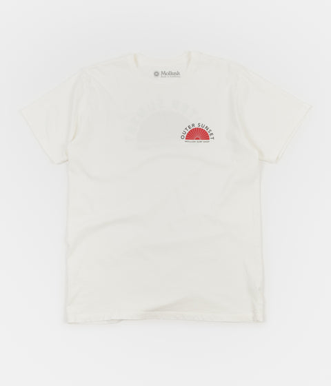 Mollusk Outer Sunset T-Shirt - White