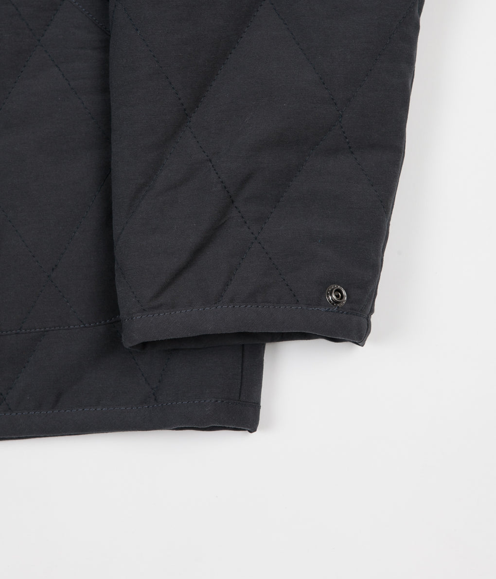 Mollusk Quilted Barn Jacket - Navy