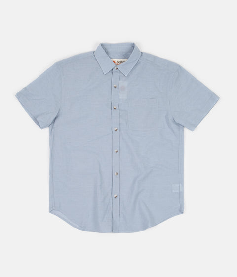 Mollusk Summer School Shirt - Jerry Blue