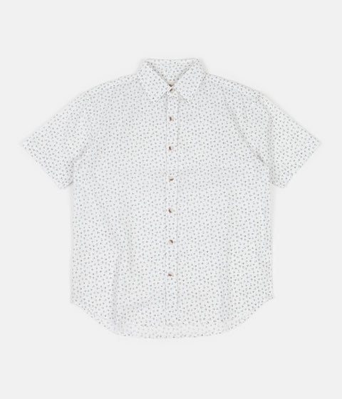 Mollusk Summer Shirt - Black Flower
