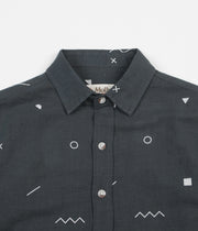 Mollusk Summer Shirt - Blue Geometry