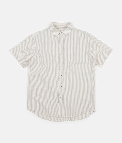 Mollusk Summer Shirt - Railroad Stripe